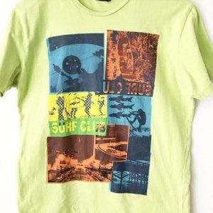 Maui and Sons Surf Club Graphic Tee Shirt S Small